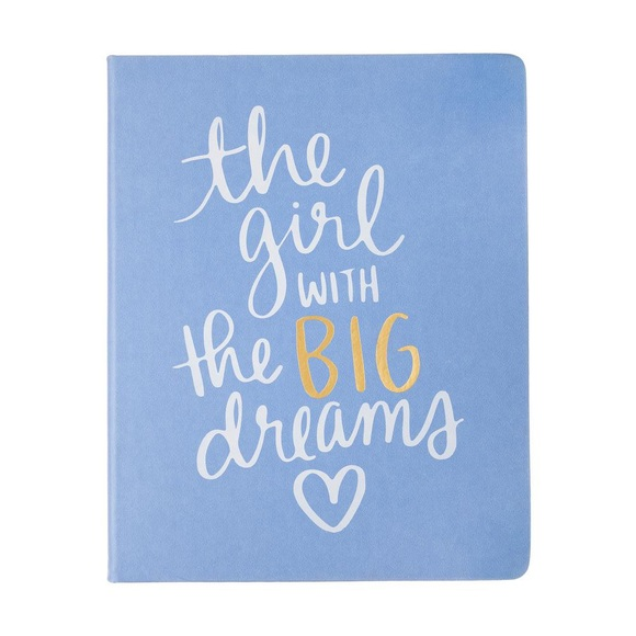 Eccolo The Girl With The Big Dreams Desk Journal
